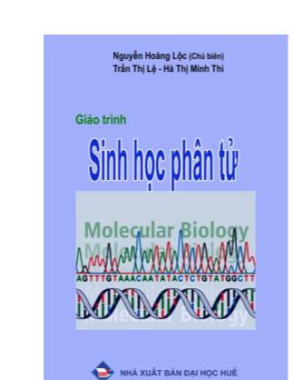 Giáo trình Sinh học phân tử