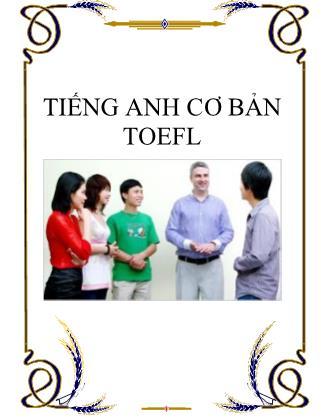 Tiếng anh cơ bản Toefl