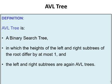 Cơ sở dữ liệu - Avl tree